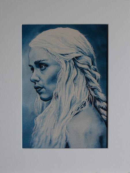 Mother of Dragons (Limited Edition Print - 1 of 1) by Ruth Archer