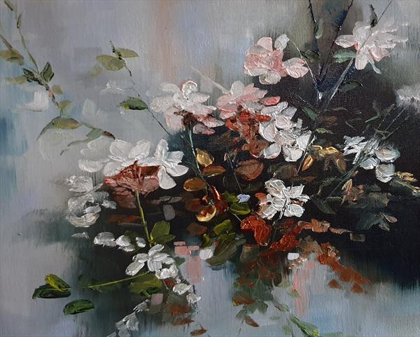 Hawthorn Roses by Elizabeth Williams