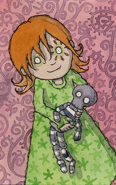 Mary Lou and Mr. Bones by Claire Keay