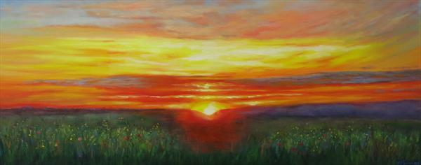 End of a Perfect Day by Maureen Greenwood
