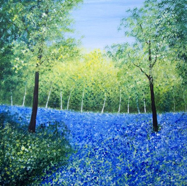 Bluebell Glade by Patricia Richards