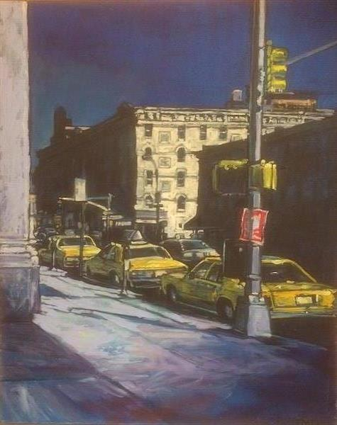 NIGHT STREETS OF NEW YORK by Patricia Clements