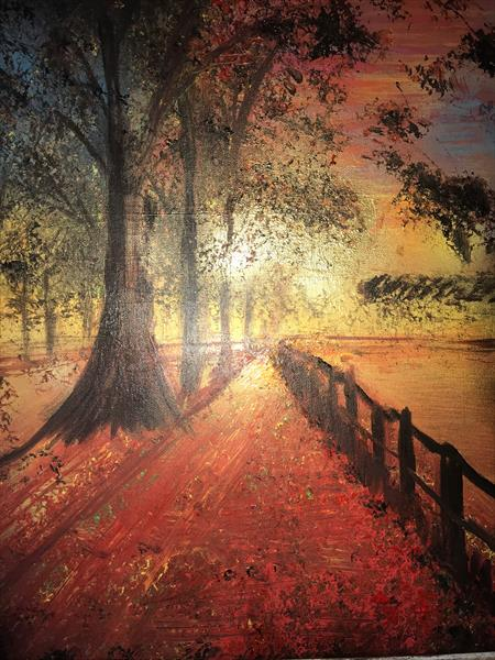 SEPTEMBER AUTUMN CANVAS by RICHIE WERMERLING