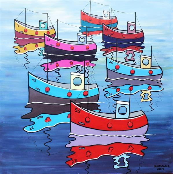 Flotilla (Large) by Paul Bursnall