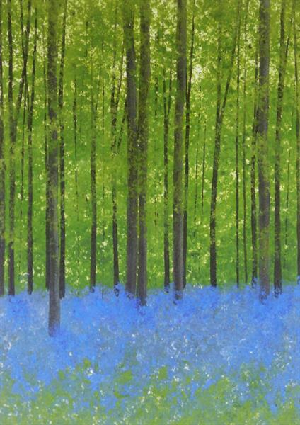 Bluebell Woods 4 by Jan Rippingham