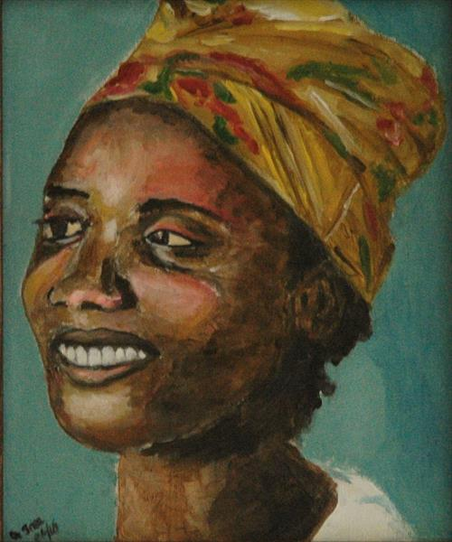 African Woman by Andrew Snee