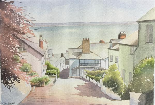Clovelly, Devon by John Ballard