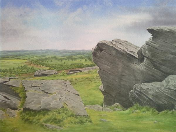 Birchen Edge by Jacqui  Vinay