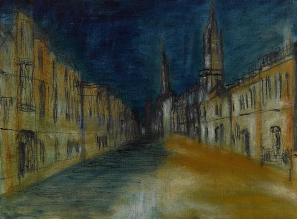 Oxford High Street - Tribute to Turner by Kamal Lathar