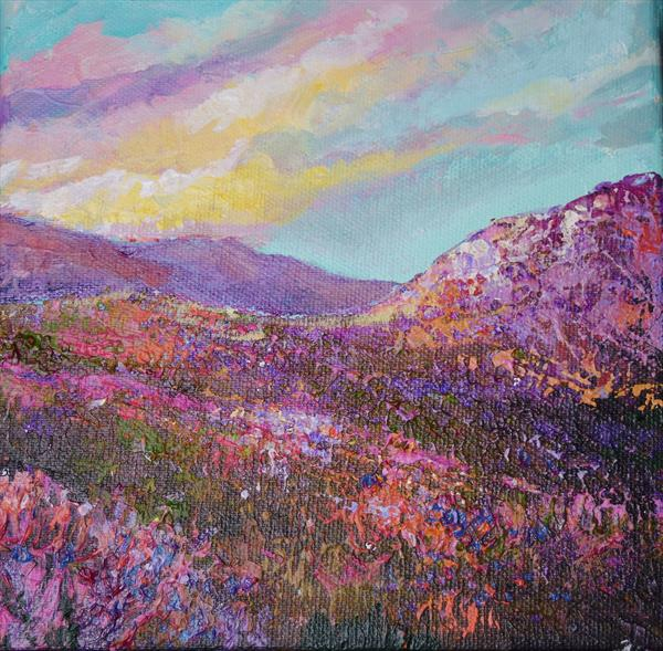 Purple Heather by Colette Baumback