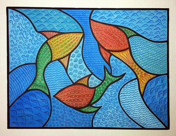 THE THREE FISHES OF SERENDIPITY by Sam Westwood