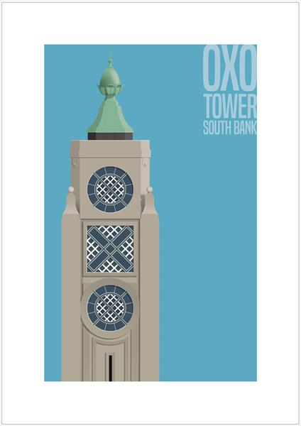 OXO Tower, South Bank, London by Charlie Edwards