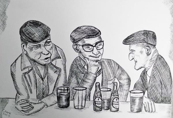 A Drink With Friends by clare reed