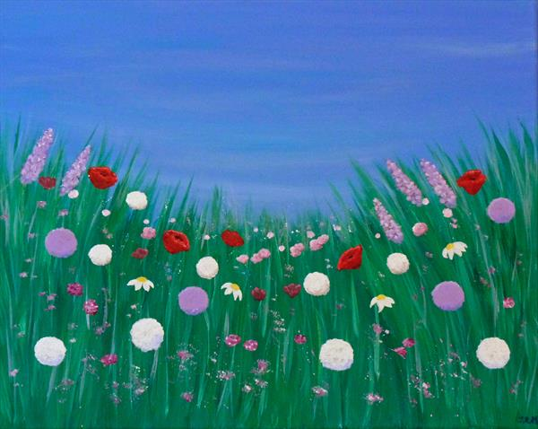 Summer Flora by Jacqueline Moore
