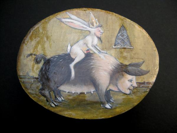 Pig and the Hare by Adaline Websper