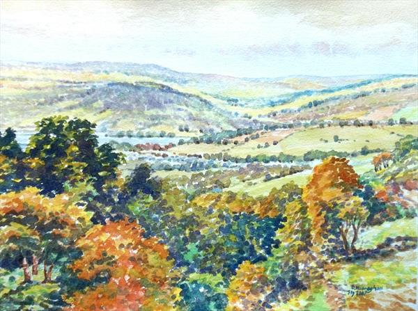 The Wye, Hay, Breconshire by David Hannaghan