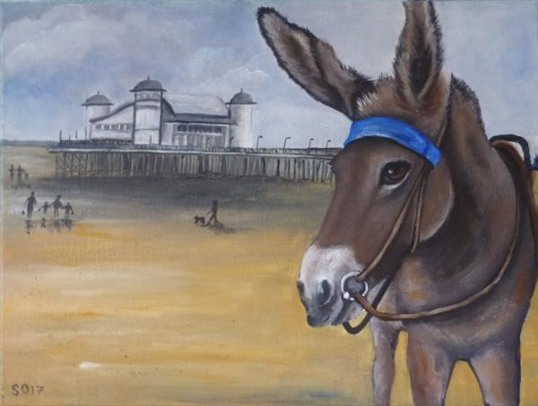 Wendy The Weston Super Mare Donkey by Super Cosmic