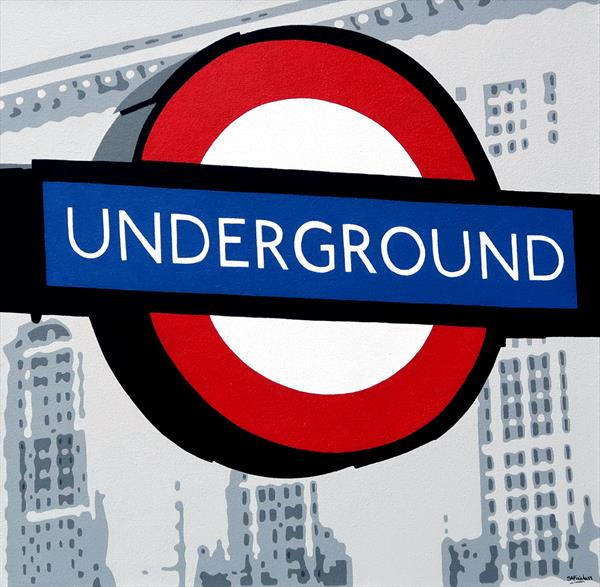 Underground (Piccadilly Circus) by Simon Fairless